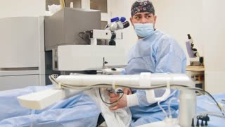 Ophthalmology surgery - laser vision correction