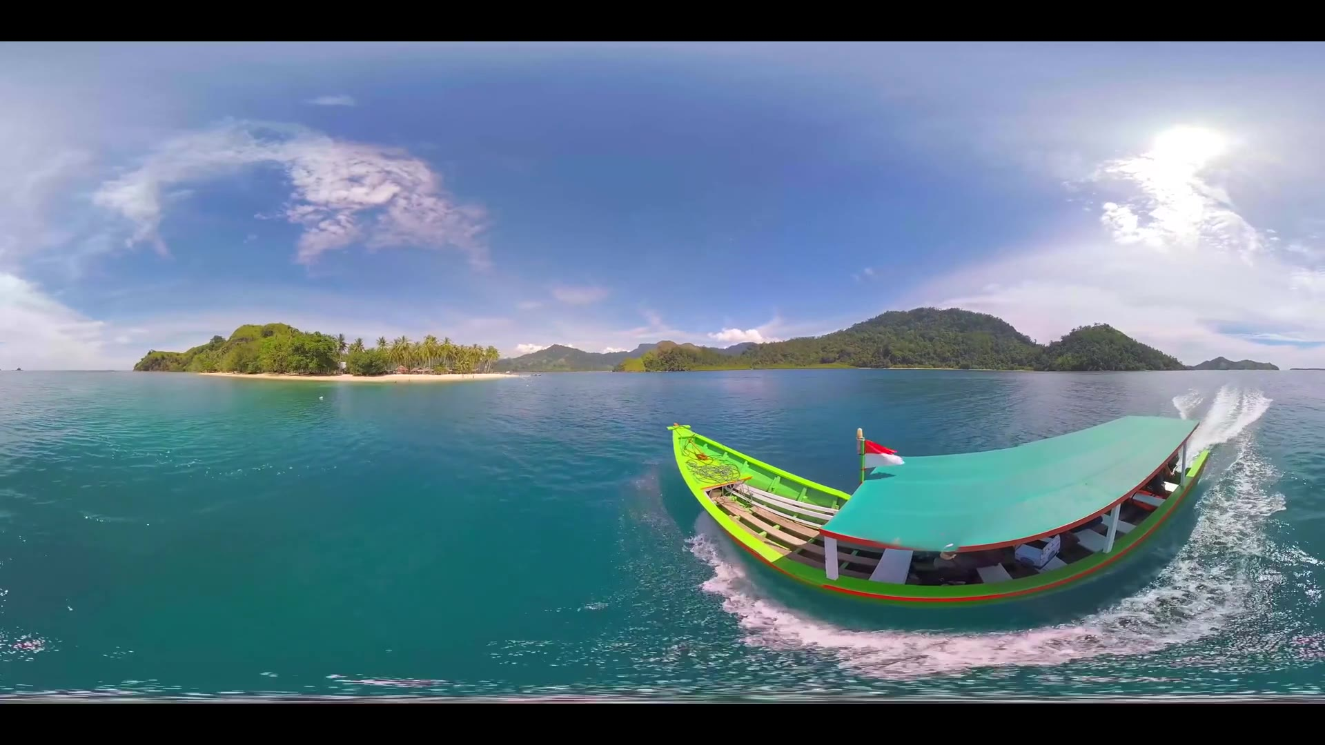 Pasumpahan Island Beach 360 VR - Multi-shot