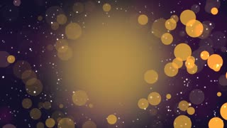 Pink And Gold Particles Sparkle Background Hd