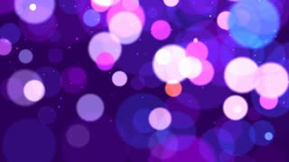 Pink And Purple Particles Background