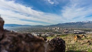 Reno, Nevada Skyline Timelapse