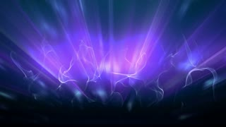 Stylized Magenta Aurora Borealis Light Ray Background Loop