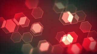 Technological Abstract Hexagonal Motion Background - Animated 4K UHD video loop
