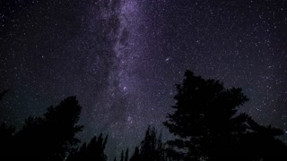 Time Lapse Perseid Meteor Shower Shooting Stars Astro Milky Way