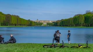 Timelapse Versaille castle park