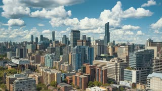 Toronto at Daytime. 4K Time lapse clip of Toronto Downtown / Midtown during the daytime.