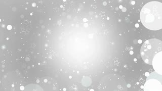 White Christmas Bokeh Holiday Particles Background Hd