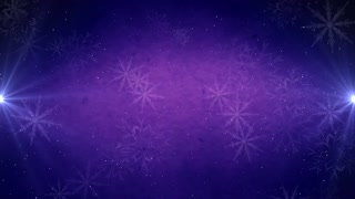 Winter Holidays Large Snow Flakes Background