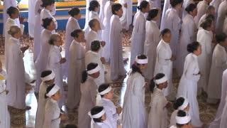 Vietnam Cao Dai Worship
