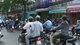 Vietnam Street Scooter Ride 2