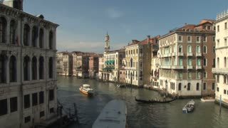View from a Venetian Bridge Zoom In