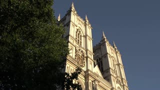 View From Beneath Westminster Abbey