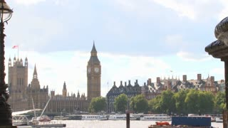 View Of Big Ben From Across The Thames River