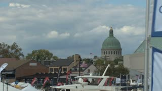 View of Boats at Annapolis Boat Show