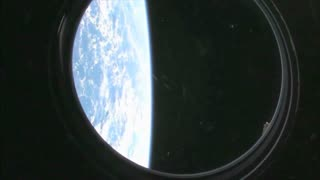 View Of Earth From International Space Station
