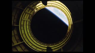 View of Earth From Shuttle Porthole