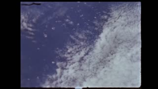 View of Oceans and Clouds From Atmosphere
