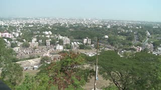 View of Pune India From High Up