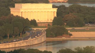 View of the Lincoln Memorial