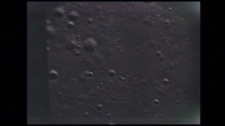 View of the Surface of the Moon From Apollo 10