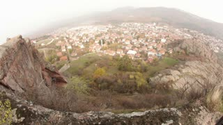 View of Valley Town From Mountain Top