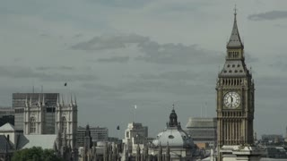 Views of Big Ben and Westminster Abbey