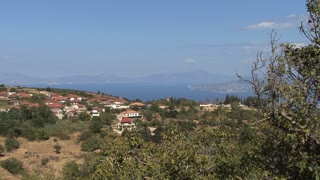 Village Overlooking Sea 1