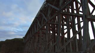 Vintage Railroad Trestle in Fort Bragg