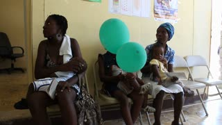 Waiting Room And Doctor's Office In Haiti