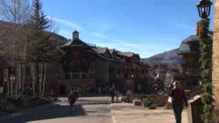 Walking Around Vail Resort
