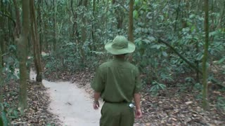 Walking Through The Vietnam Jungle