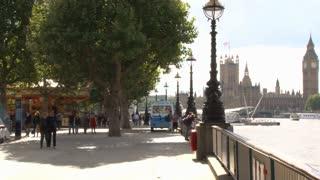 Walkway Along River Thames