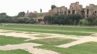 Walls of Roman Ruins