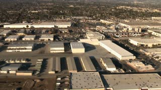 Warehouse Buildings Aerial