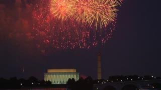 Washington DC Fireworks Finale