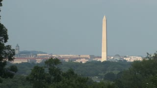 Washington DC Landscape with Washington Monument