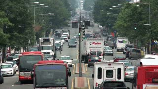 Washington DC Roadway Traffic Timelapse