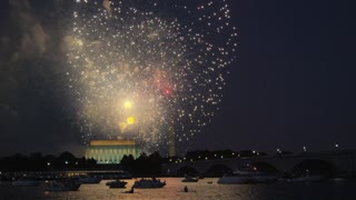 Washington DC Waterside Fireworks Show