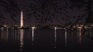 Washington Monument at night 2