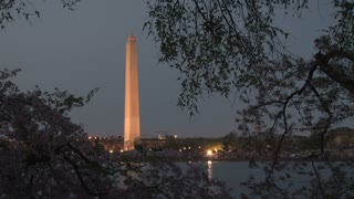 Washington Monument at night 4