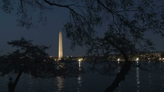Washington Monument at night 7