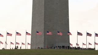 Washington Monument Base Time Lapse