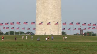 Washington Monument Base Timelapse