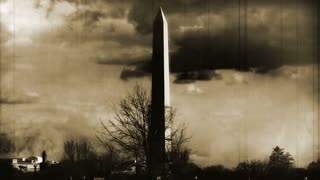 Washington Monument Sepia