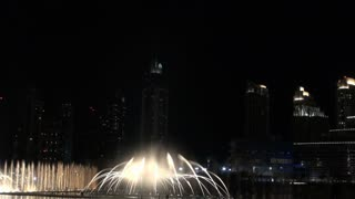 Water Fountain By Burj Khalifa