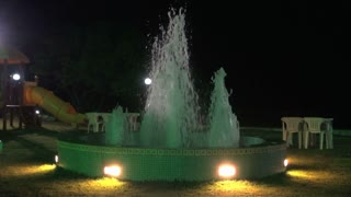 Water Fountain By Playground