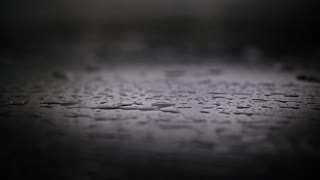 Water splashes artistic super slow motion shot