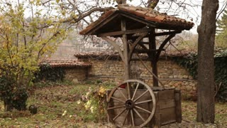 Water Well In Romanian Courtyard