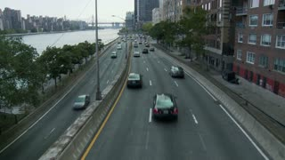 Waterfront NYC Road Timelapse