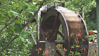 Waterwheel Spinning